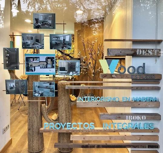 Decorador interiorista y arquitecto Proyectos de reforma Vitoria - escaparate