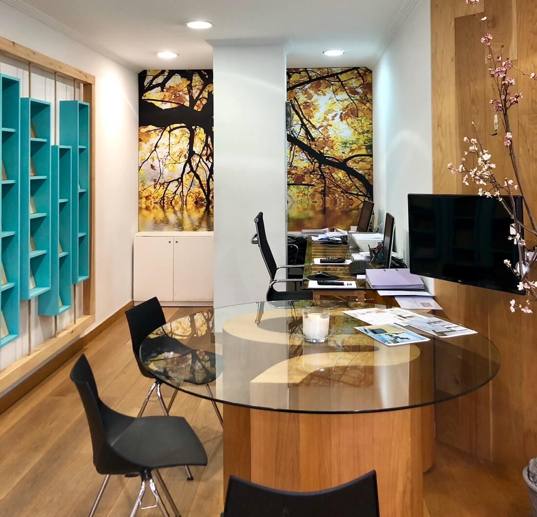Decorador interiorista y arquitecto Proyectos de reforma Vitoria - oficina