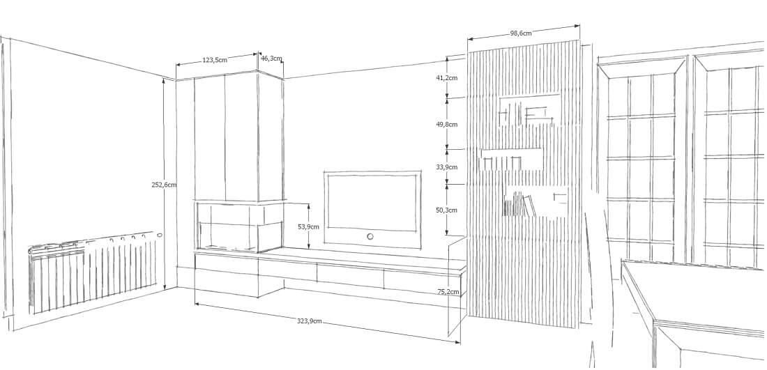 Mobiliario a medida de calidad muebles de diseño a medida - diseño de mueble de salon