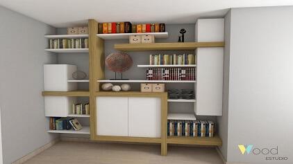 Mobiliario a medida de calidad muebles de diseño a medida - oficina madera