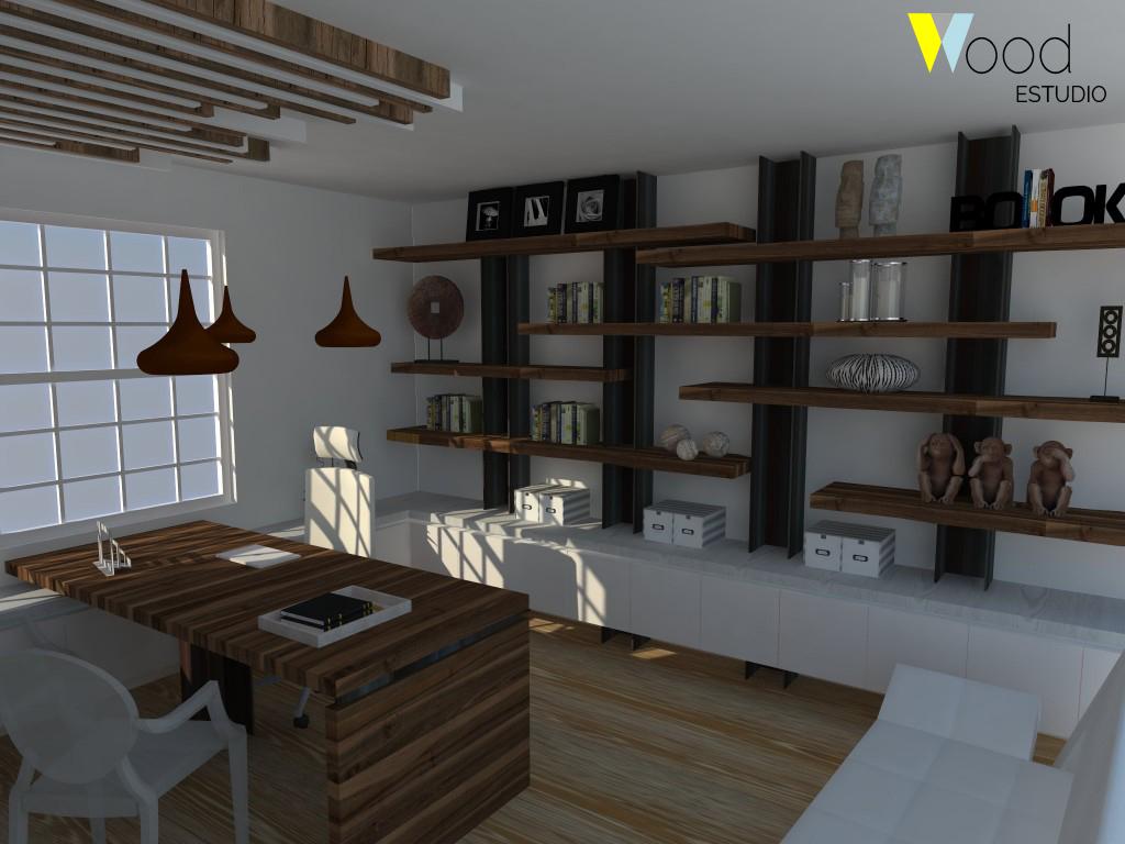 POST Proyecto oficina de madera_WoodEstudio