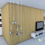 Decoración de interiores con alma de madera